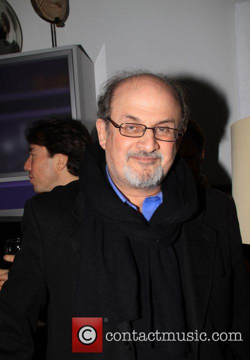 Salman Rushdie Vito Schnabel and Olivier Sarkozy present...