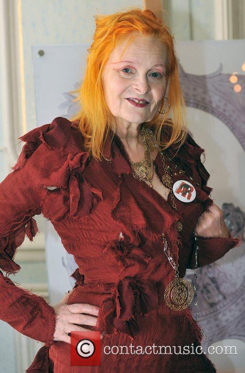 Dame Vivienne Westwood is honoured as member of...