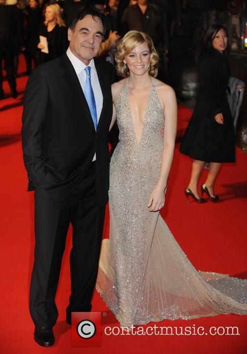 Oliver Stone and Elizabeth Banks 7