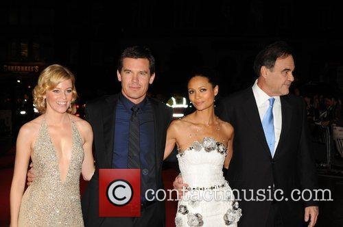 Elizabeth Banks, Josh Brolin, Thandie Newton, Odeon Leicester Square