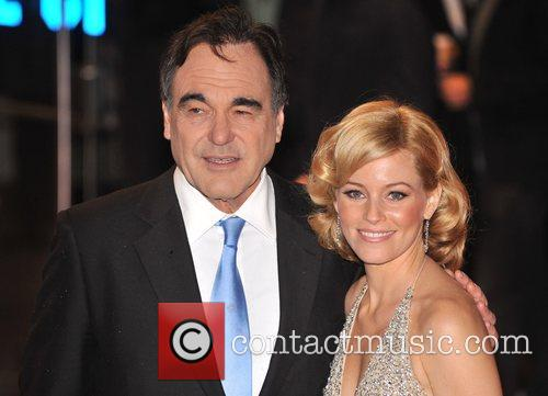 Oliver Stone, Elizabeth Banks, Odeon Leicester Square