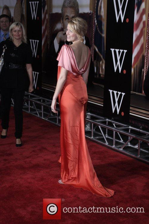 Elizabeth Banks New York Premiere of 'W.' at...