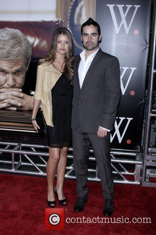 Jesse Bradford (r) and guest New York Premiere...