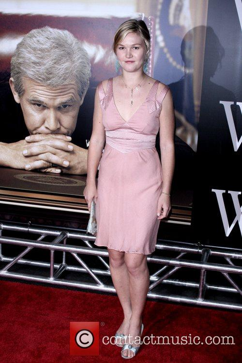 Julia Stiles New York Premiere of 'W.' at...
