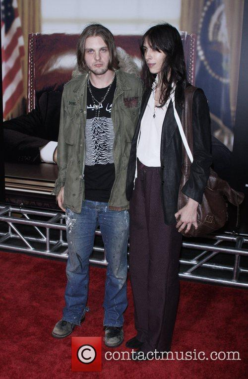 Michael Pitt and guest New York Premiere of...