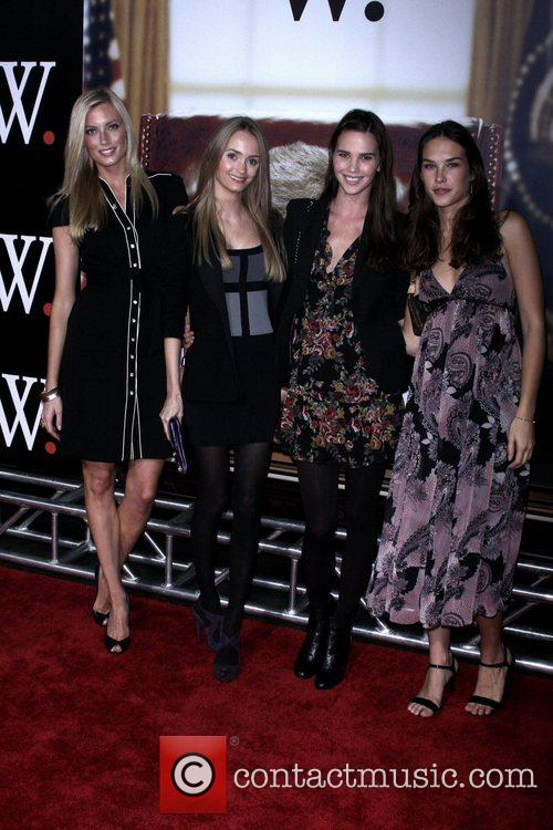 Guests New York Premiere of 'W.' at the...