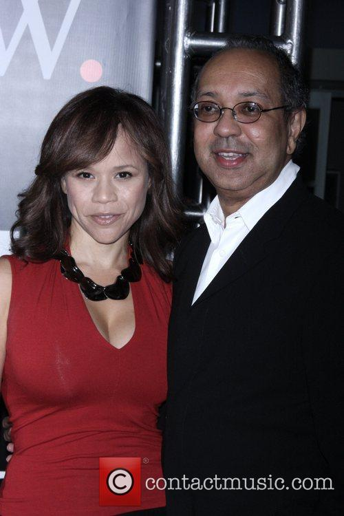 Rosie Perez and guest New York Premiere of...