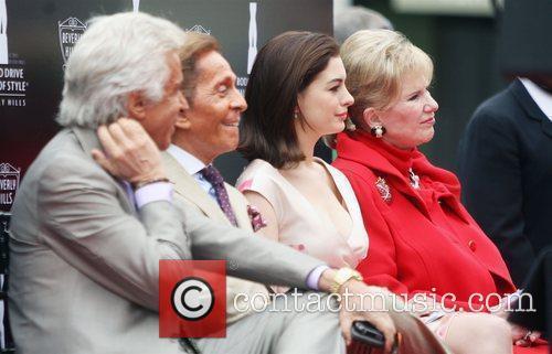 Valentino Garavani receives the Rodeo Drive Walk of...