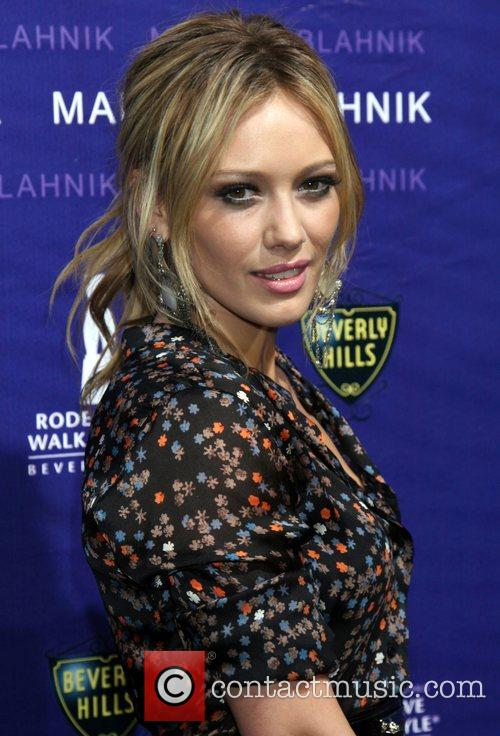 Hilary Duff The Rodeo Drive Walk Of Style...