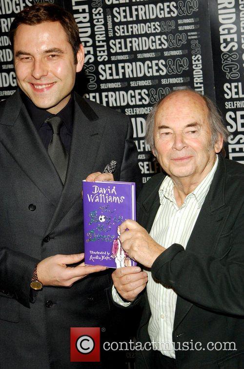 David Walliams and Quentin Blake 6