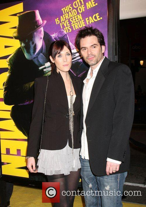 Billy Burke and Guest Los Angeles premiere of...