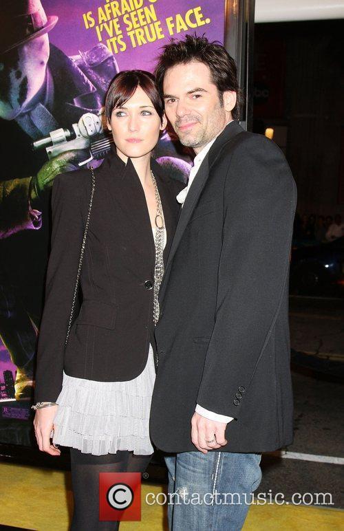 Billy Burke Los Angeles premiere of 'Watchmen' held...
