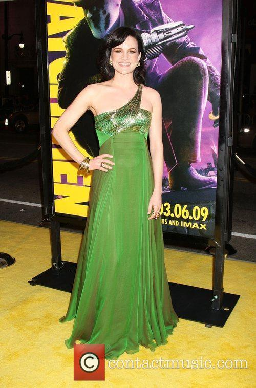 Carla Gugino Los Angeles premiere of 'Watchmen' held...