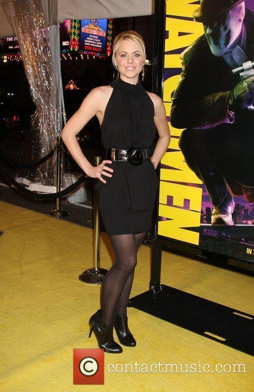 Collete Wolfe  Los Angeles premiere of 'Watchmen'...