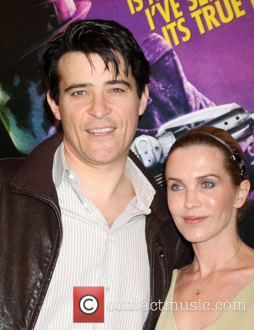 Goran Visnjic and Guest Los Angeles premiere of...