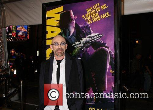 Jackie Earle Haley Los Angeles premiere of 'Watchmen'...