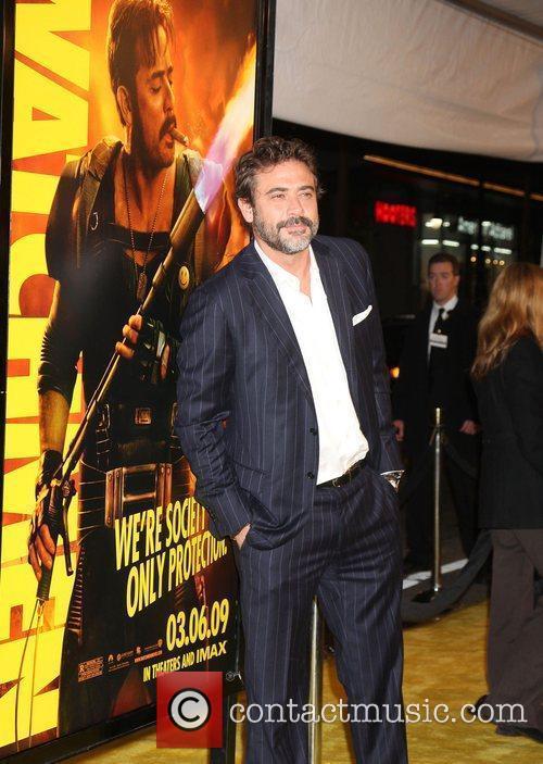 Jeffrey Dean Morgan Los Angeles premiere of 'Watchmen'...