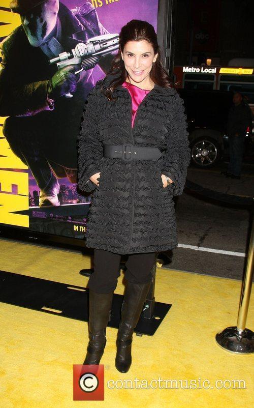Jo Champa Los Angeles premiere of 'Watchmen' held...