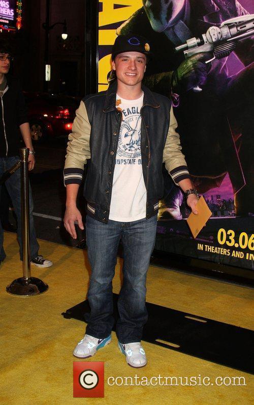 Josh Hutcherson  Los Angeles premiere of 'Watchmen'...