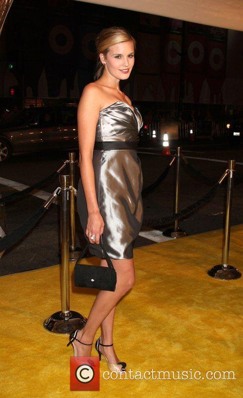 Maggie Grace Los Angeles premiere of 'Watchmen' held...