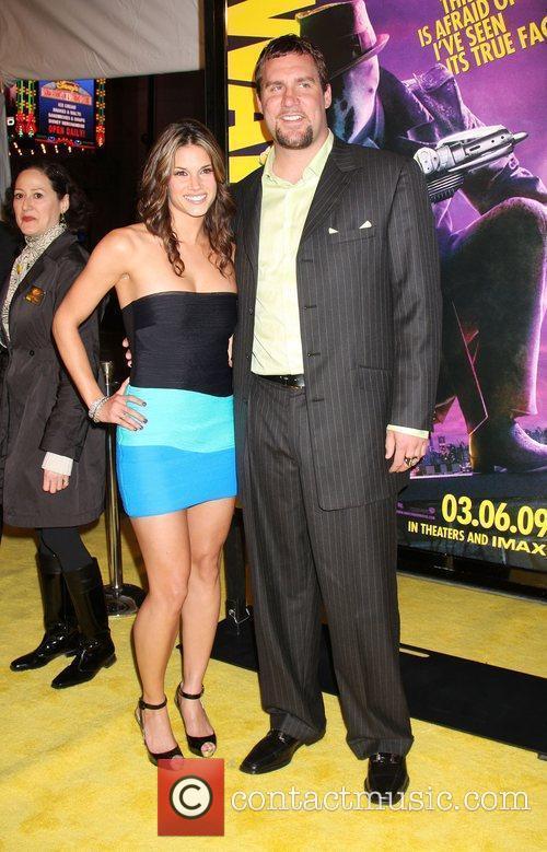 Missy Peregrym and Ben Roethlisberger  Los Angeles...