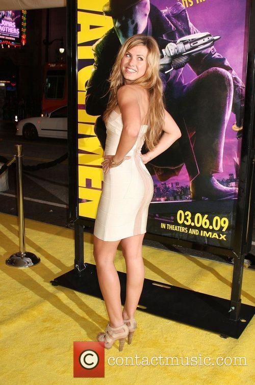 Vail Bloom Los Angeles premiere of 'Watchmen' held...
