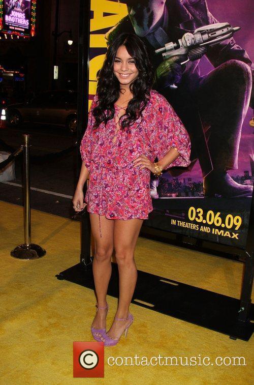 Vanessa Hudgens Los Angeles premiere of 'Watchmen' held...