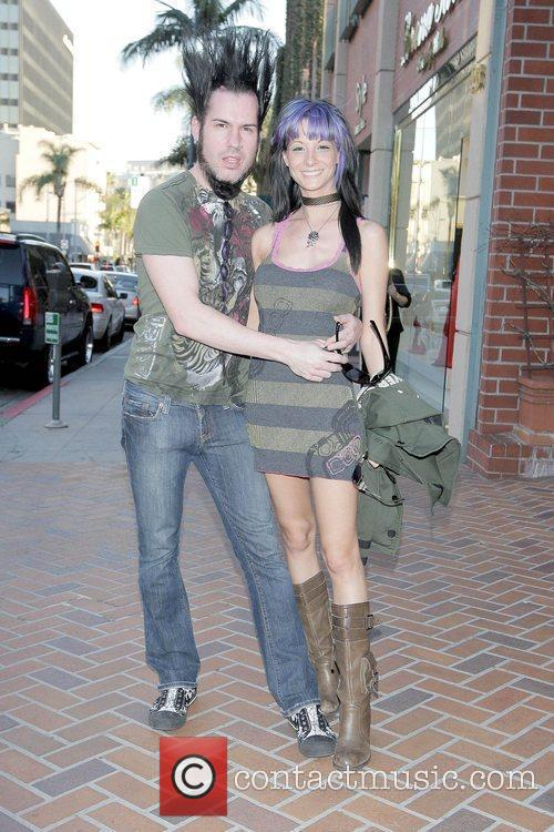 Wayne Static from the band Static-X out and...