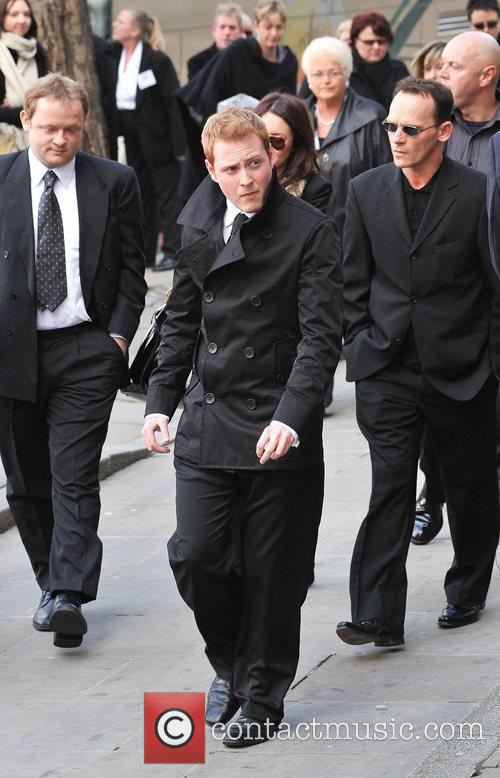 The Funeral of Wendy Richard held at St...