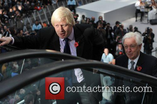 Boris Johnson The Westfield Shopping Centre opens in...