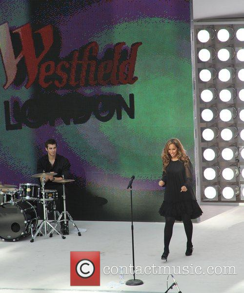 Leona Lewis The Westfield Shopping Centre opens in...