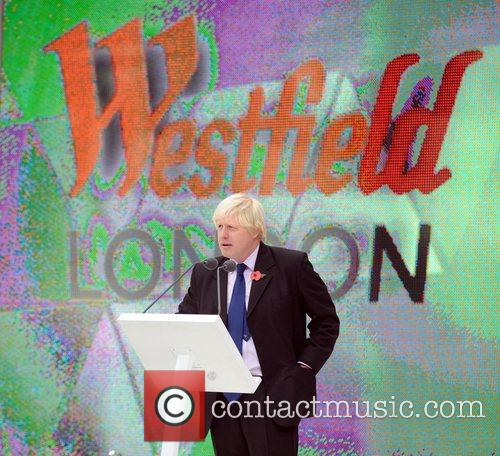 Boris Johnson  officially opens the Westfield Shopping...