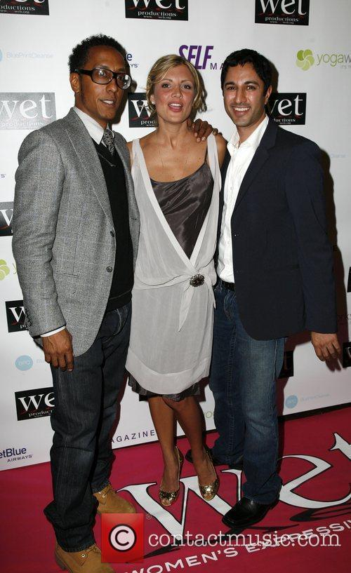 Andre Royo, Sabine Singh, Guest LOVE Benefit to...
