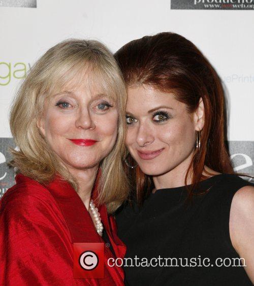 Blythe Danner, Debra Messing LOVE Benefit to Support...