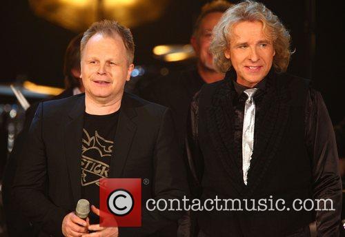 Herbert Groenemeyer, Thomas Gottschalk on German TV show...