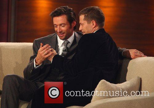Hugh Jackman and Til Schweiger