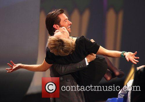 Hugh Jackman and Ursula Von Der Leyen 4