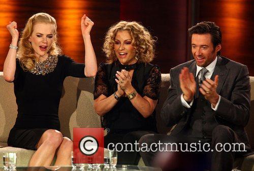 Nicoel Kidman, Anastacia, Hugh Jackman on German TV...