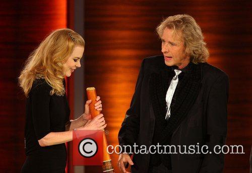 Nicole Kidman, Thomas Gottschalk on German TV show...