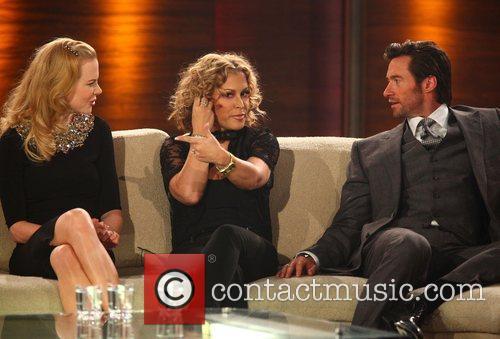 Nicole Kidman, Anastacia, Hugh Jackman on German TV...