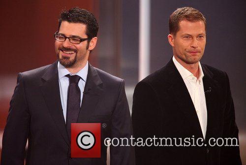 Rick Kavanian, Til Schweiger on German TV show...