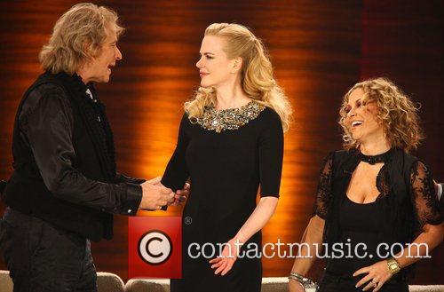 Thomas Gottschalk, Nicole Kidman, Anastacia on German TV...
