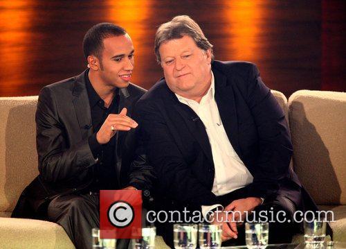 Guests on German TV show 'Wetten Dass...' Stuttgart,...