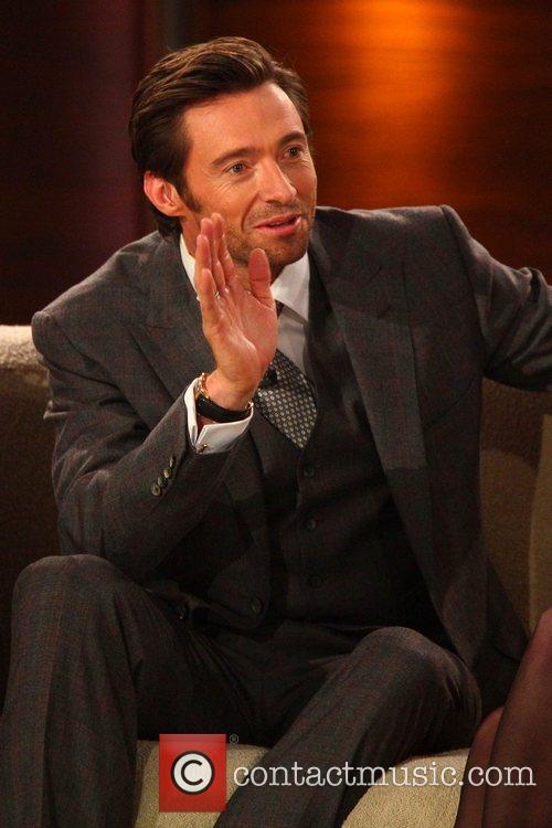 Hugh Jackman on German TV show 'Wetten Dass...'...