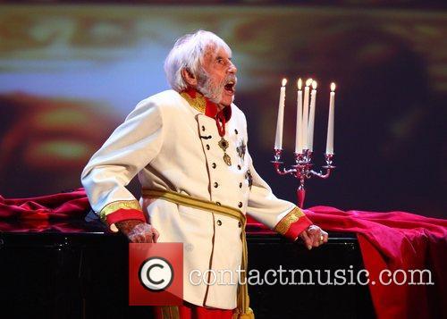 Johannes Heesters on German TV show 'Wetten Dass...'...