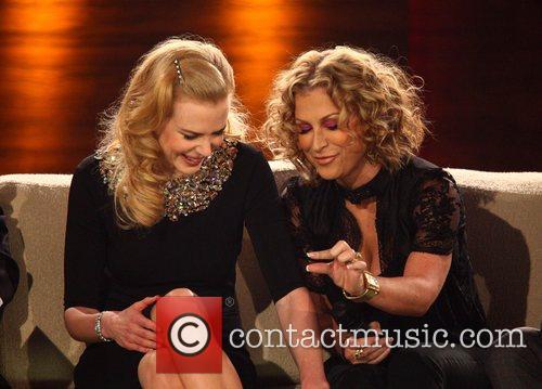 Nicole Kidman and Anastacia on German TV show...
