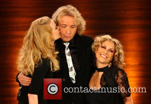 Nicole Kidman, Thomas Gottschalk and Anastacia on German...