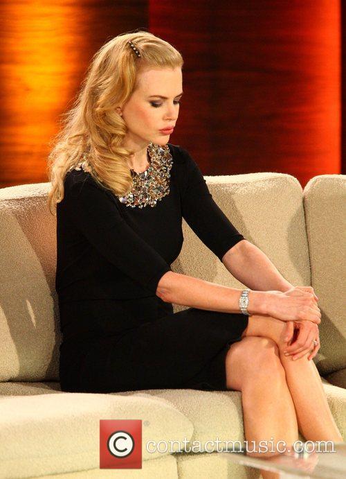 Nicole Kidman on German TV show 'Wetten Dass...'...