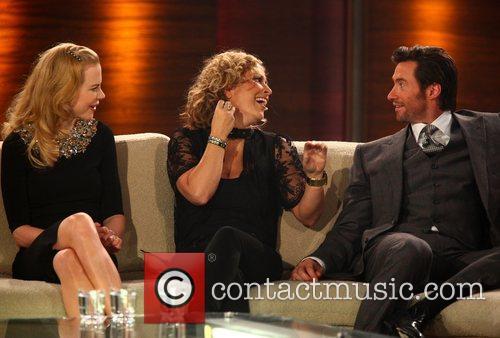 Nicole Kidman, Anastacia and Hugh Jackman on German...