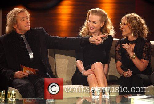 Thomas Gottschalk, Nicole Kidman and Anastacia on German...